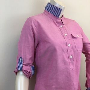 VINEYARD VINES 1/4 Button Down Long Sleeve